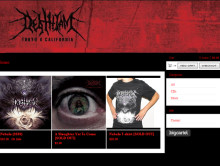 Merch Store & Blog